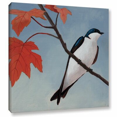 Autumn Tile I Painting Print on Wrapped Canvas