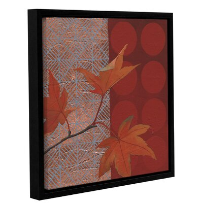 Autumn Tile IV Framed Painting Print on Wrapped Canvas