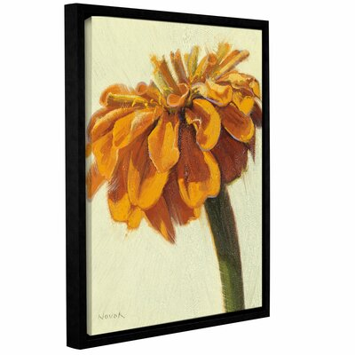 Young Zin Pumpkin Framed Painting Print on Wrapped Canvas Size: 18