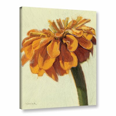 Young Zin Pumpkin Painting Print on Wrapped Canvas