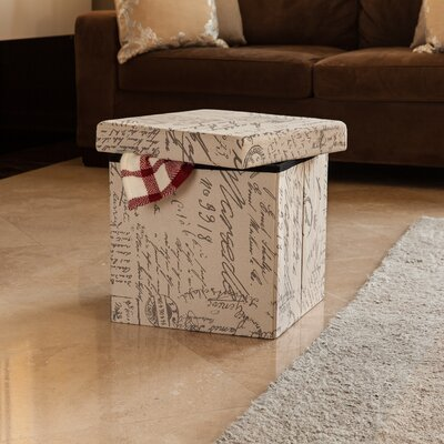 Hetre Folding Storage Ottoman