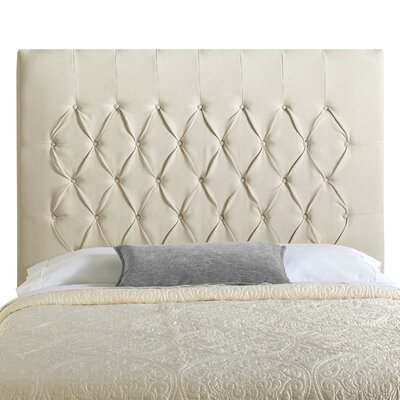 Myrtille Upholstered Panel Headboard Size: Queen
