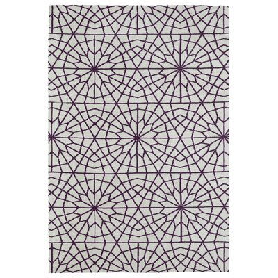 Yassine Purple Area Rug Rug Size: 3 x 5