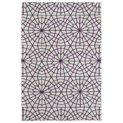Chew Magna Purple Area Rug Rug Size: 5' x 7'