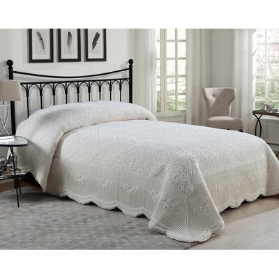 Keira Quilted Plush Bedspread
