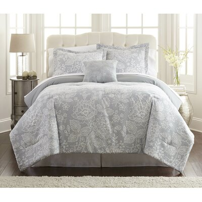 Vigne 6 and 8 Piece Comforter Set Size: Queen