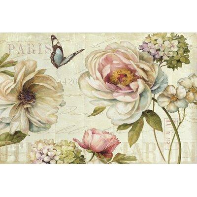 Marche de Fleurs IV Graphic Art on Wrapped Canvas Size: 12