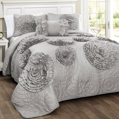 Clermont 4 Piece Quilt Set Size: King