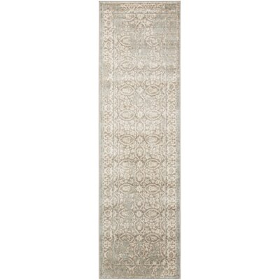 Angelique Gray Area Rug Rug Size: Runner 2'2