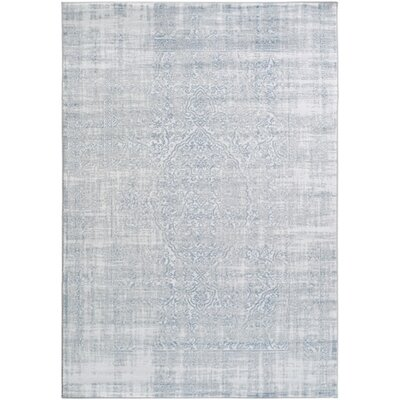 Ismay Blue Area Rug Rug Size: Rectangle 39 x 52