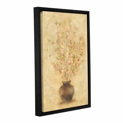 Apple Blossoms Framed Painting Print on Wrapped Canvas
