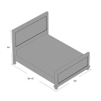Assya Upholstered Panel Bed