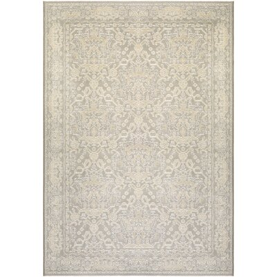 Elise Pearl/Champagne Area Rug Rug Size: 7'10