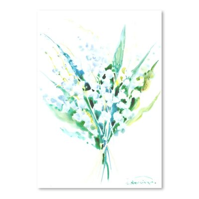 Lilies of The Valley Painting Size: 10