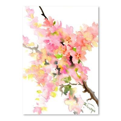 Cherry Blossom Sakura Painting Print