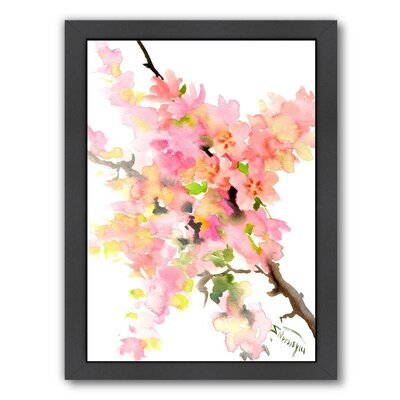 Cherry Blossom Sakura Framed Painting Print