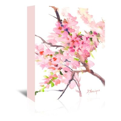 Sakura Painting Print on Wrapped Canvas Size: 20