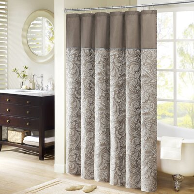 Aubrey Jacquard Shower Curtain