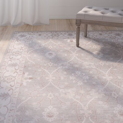 Dubuque Taupe Area Rug Rug Size: Rectangle 39 x 52