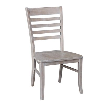 Dorsey Gray Solid Wood Dining Chair