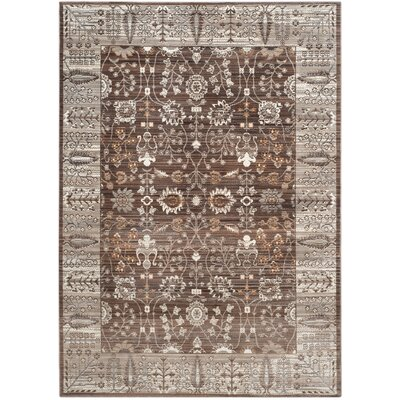 Longeville Brown/Beige Area Rug Rug Size: Rectangle 5 x 8