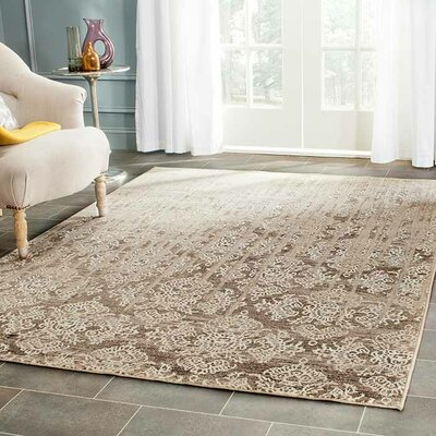 Valmer Mouse Oriental Gray Area Rug Rug Size: Rectangle 67 x 92