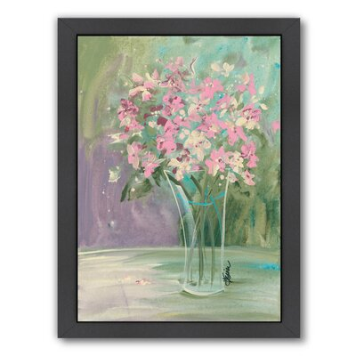 Pastel Blooms Framed Painting Print