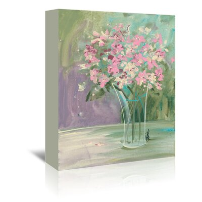 Pastel Blooms Painting Print on Wrapped Canvas
