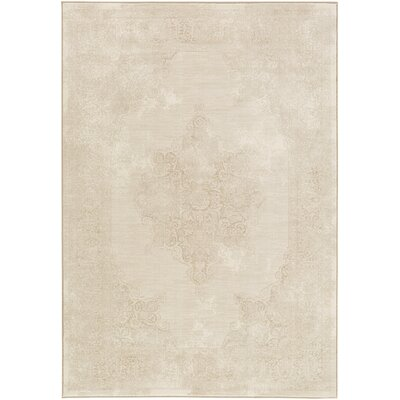 Lille Brown/Neutral Area Rug Rug Size: 2 x 3