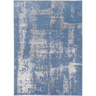 Gervais Blue/Gray Area Rug Rug Size: 7'10