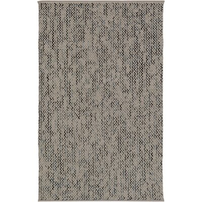Nicolle Hand-Woven Beige/Gray Area Rug Rug Size: Rectangle 5 x 76