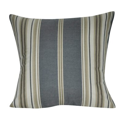 Anis Throw Pillow Color: Blue