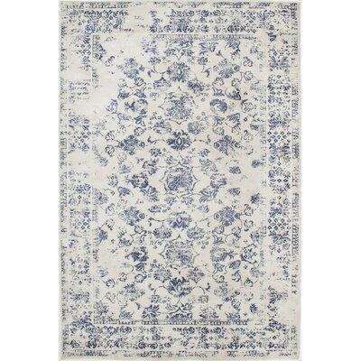 Aspremont Blue Area Rug Rug Size: 5' x 8'
