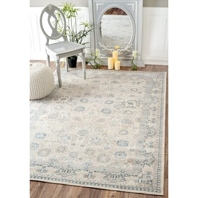 Armancourt Bone Area Rug Rug Size: Rectangle 53 x 77