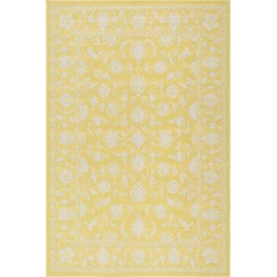 Nanteuil Yellow Indoor/Outdoor Area Rug Rug Size: 5 x 76