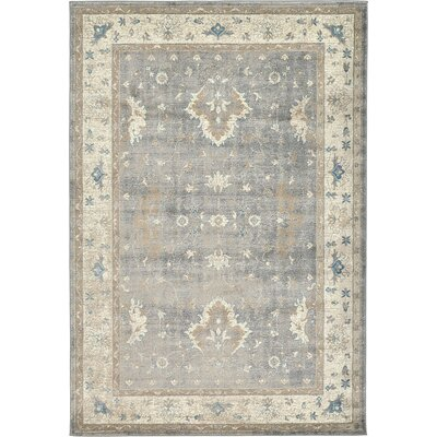 Luella Gray Area Rug Rug Size: Runner 27 x 10