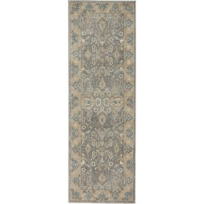 Luella Gray / Brown Area Rug Rug Size: Runner 2 x 6