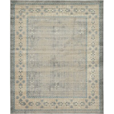 Brierfield Gray Area Rug Rug Size: Rectangle 8 x 10