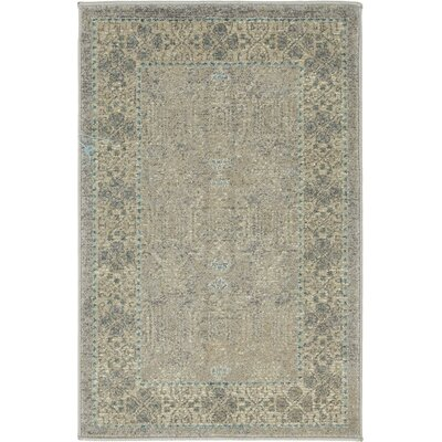 Brierfield Gray Area Rug Rug Size: Rectangle 7 x 10