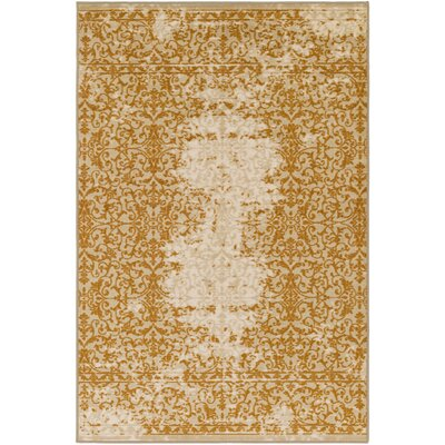 Mortemart Beige/Brown Area Rug Rug Size: 110 x 3