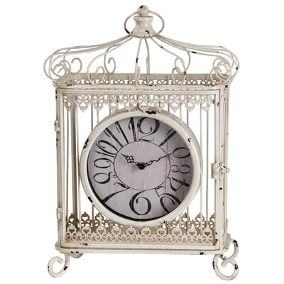 Traditional Iron Table Clock