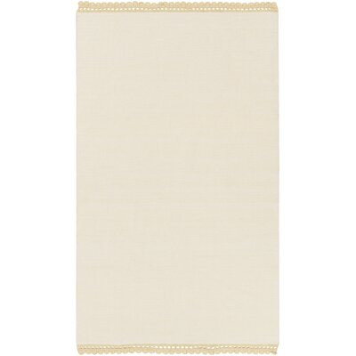 Nicol Ivory Area Rug Rug Size: Rectangle 5 x 76