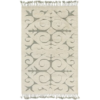 Isobel Light Gray Area Rug Rug Size: 4 x 6