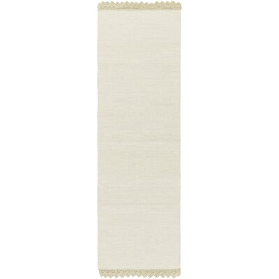 Embry Hand-Woven Moss Area Rug Rug size: Runner 2'6