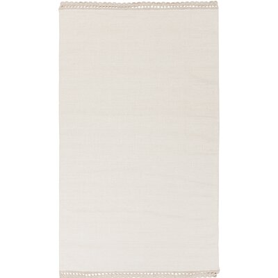 Embry Hand-Woven Neutral Area Rug Rug Size: 8 x 10