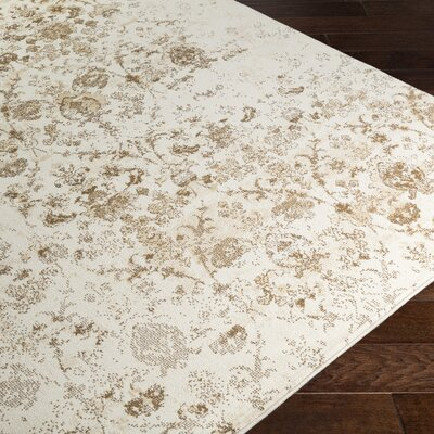 Glenan Brown Area Rug Rug Size: 5 x 76