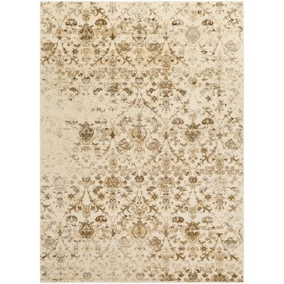 Glenan Brown Area Rug Rug Size: 8' x 10'