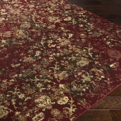 Shailene Red/Brown Area Rug Rug Size: Rectangle 5 x 76