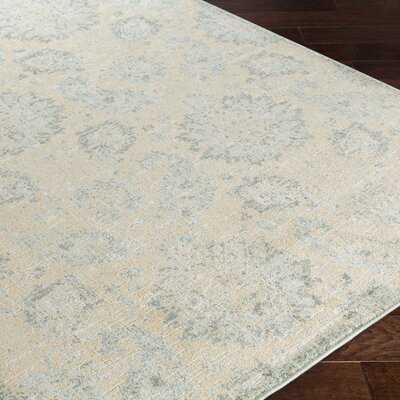 Masam Green/Beige Area Rug Rug Size: Rectangle 710 x 910