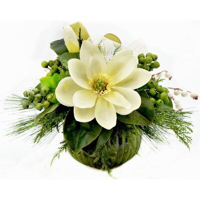 Festive Floral Arrangement in Vase